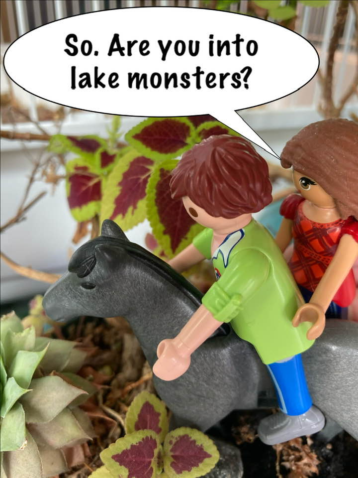 --Wait what --Nothing! Let's go check out the lake.